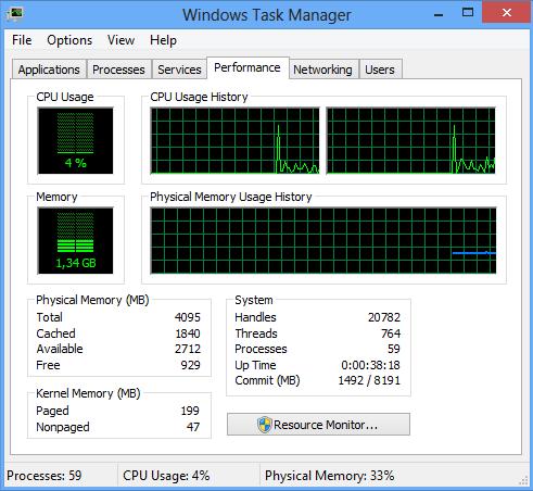 как вернуть старый диспетчер задач Windows 8