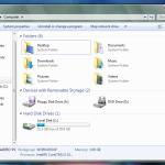 Как добавить в Компьютер в Windows 7 папки как в Windows 8