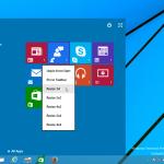 Как включить Continuum (новый экран Пуск) в Windows 10 TP3