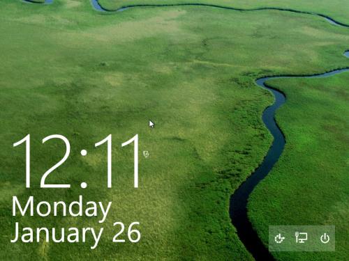 lock screen Windows 10 2