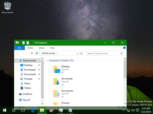 more transparent taskbar
